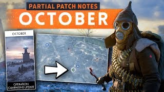 ► OCTOBER PATCH UPDATE NOTES (PARTIAL)! - Battlefield 1 (Specialisation Fixes & Spawn Screen Update)