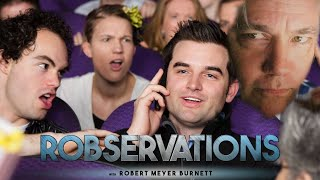 MOVIE THEATER ETIQUETTE AND THE END OF CIVILIZATION. - ROBSERVATIONS Live Chat #223