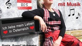 """Deutsch mit Musik """"Ich liebe mein Leben in Österreich"""" (Text-Version) – Sonja """"SONNI"""" Hubmann"""