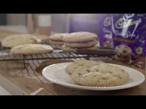 Easy baking with Julia Taylor  Cadbury Choc Chip Cookies FULL RECIPES