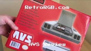 AVS NES / Famicom FPGA Console Review by RetroRGB
