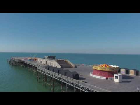 Hastings Pier 2016     Filmed Over Two Years      Drone