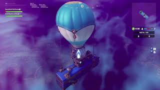 Fortnite Bug stuck on the bus went through to near another island