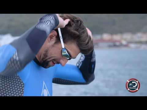 Is Michael Phelps Faster Than a Shark? | SHARK WEEK