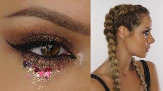 Festival Hair & MakeUp Tutorial | Shockwaves | Shonagh Scott | ShowMe MakeUp