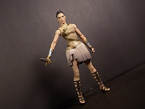 DC COMICS MULTIVERSE DIANA OF THEMYSCIRA WONDER WOMAN ACTION FIGURE SHOWCASE REVIEW