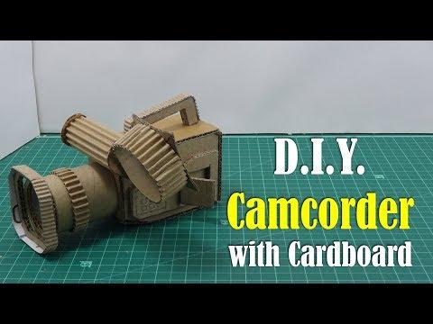 DIY: Camcorder with Cardboard
