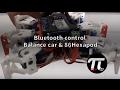 Bluetooth control balance car & 86hexapod
