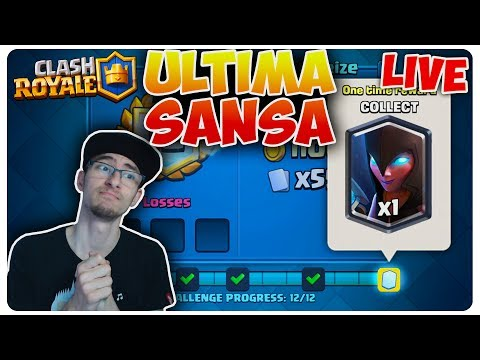 Ultima sansa la NIGHT WITCH  Clash Royale LIVE