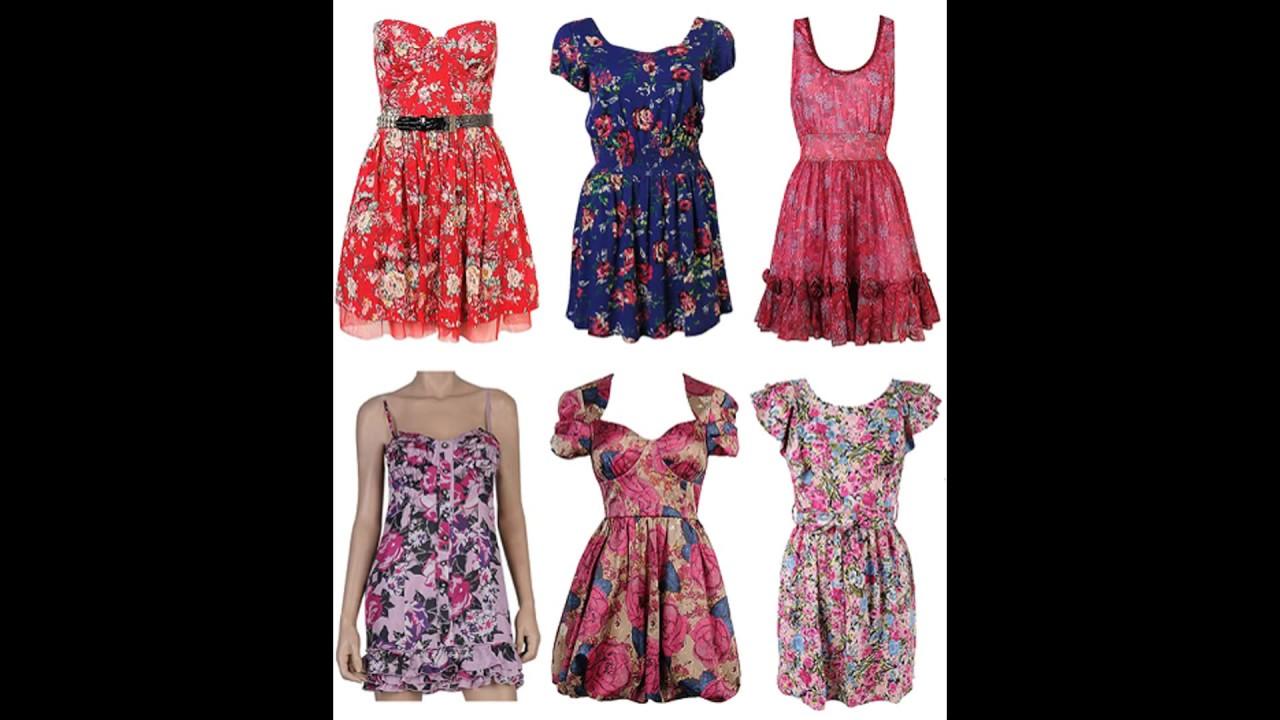 a04fc75faa Modelos de Vestidos Para Festa Para Usar Em Churrasco - YouTube
