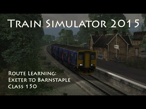 Train Simulator 2015 - Route Learning: Exeter to Barnstaple (Class 150)