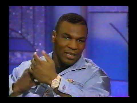 1991 Mike Tyson interview (Arsenio Hall Show)