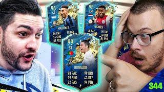 FIFA 20 MY ELITE 1 TOTS SERIE A FUTCHAMPIONS REWARDS PACK OPENING !!! OMG I GOT AN INSANE TOTS CARD