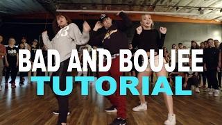 """BAD AND BOUJEE"" - Migos Dance TUTORIAL   @MattSteffanina Choreography - Stafaband"