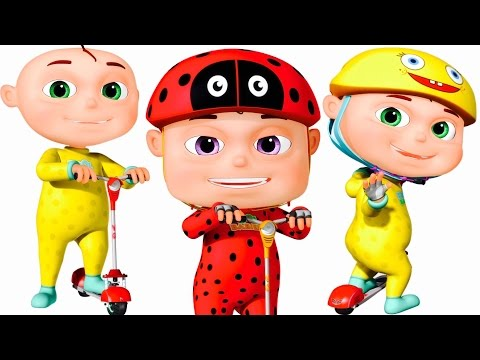 Five Little Babies Riding Scooters | Five Little Babies Collection | Zool Babies Fun Songs