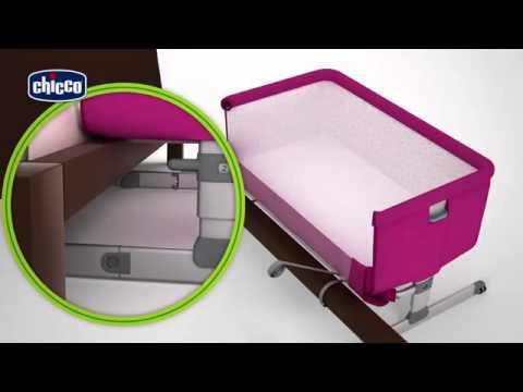 Next2me chicco newbabyland youtube - Culla che si attacca al letto prenatal ...