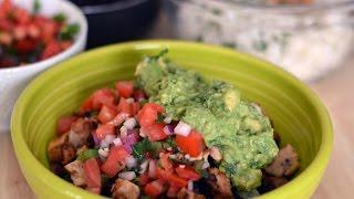 Receta De Burrito Bol De Pollo Chipotle - Cómo Hacer Pollo De Chipotle - SyS