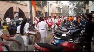 Utsav dhol tasha pathak @gharkul sai palkhi, kharghar
