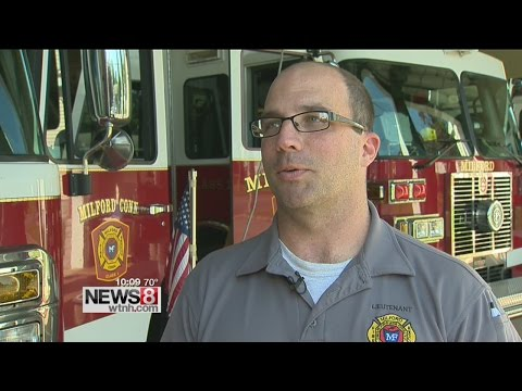 Firefighters help veteran on Memorial Day