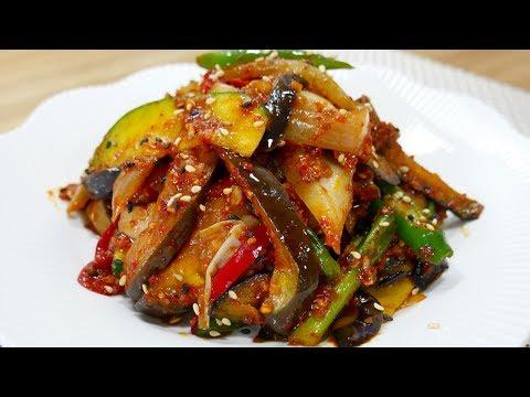 가지볶음 ( Stir fried Eggplant )
