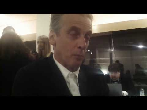 Doctor Who  Peter Capaldi Talks About The Christmas Special & Jodie Whittaker