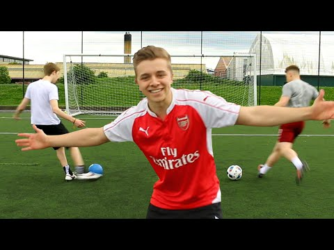 YOUTUBER EURO 2016 | FOOTBALL CHALLENGES ft. JOE WELLER & CALFREEZY