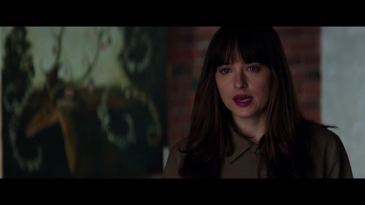 """Download CINQUANTA SFUMATURE DI NERO - Scena del film in italiano """"Leila e Ana"""""""