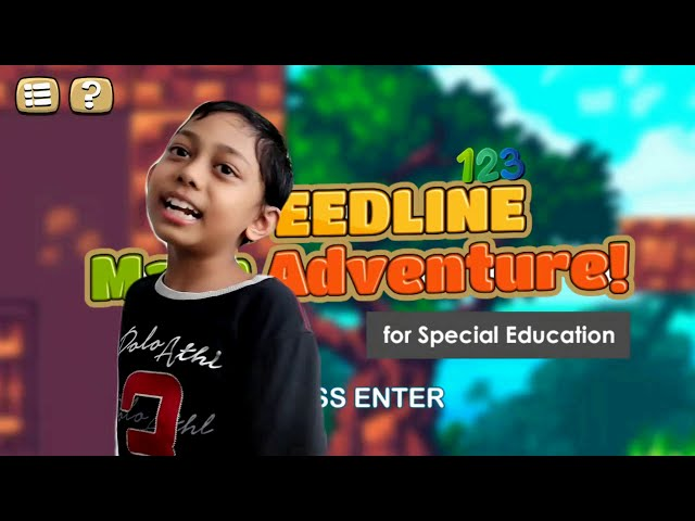 Speedline Math Adventure - Jr. Developer (Faqeh) explains how it works!