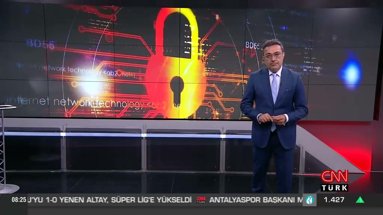 Pandemi Döneminde Artan Siber Saldırılara Dikkat! - Berqnet & CNN Türk Haber Bülteni
