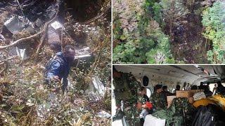 WOW Video Penampakan Sosok Orang Lari Saat Penemuan Pesawat Trigana Air