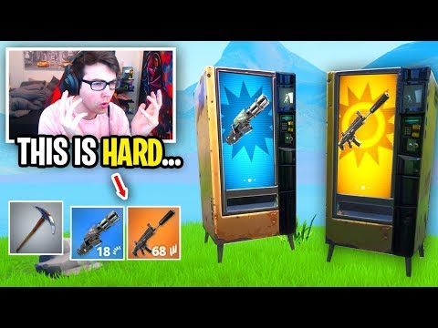 I can ONLY use Vending Machines in Fortnite... (how did I do THIS?)