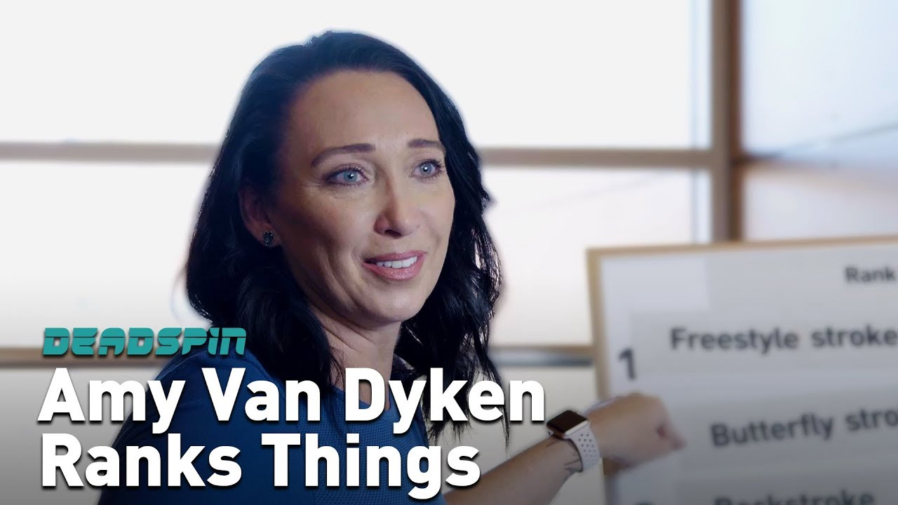 Watch Amy Van Dyken 6 Olympic medals video