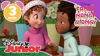 Fancy Nancy Clancy | Nancy, La Poéte 🌹 | Disney Junior UK