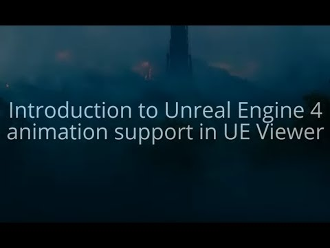 UE Viewer: working with UE4 assets (with subtitles)