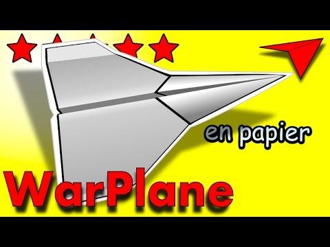 Vote no on comment faire un avion en papier qui vole tr s b - Tuto avion en papier ...