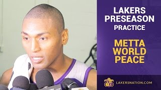 Metta World Peace On Lamar Odom