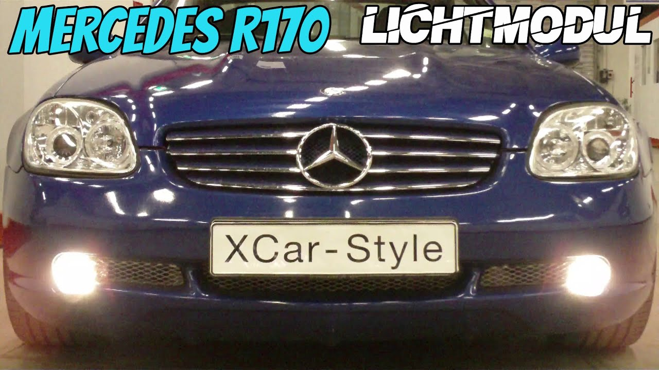 xcar style mercedes slk r170 multi light modul youtube. Black Bedroom Furniture Sets. Home Design Ideas