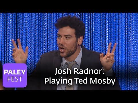How I Met Your Mother  Josh Radnor Discusses Playing Ted Mosby