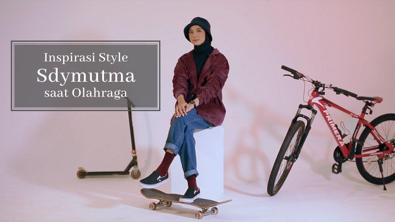 Inspirasi Tampil Stylish saat Olahraga dari Sdymutma