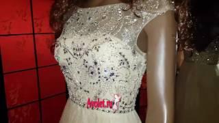 Вечернее (свадебное) платье с пышной юбкой