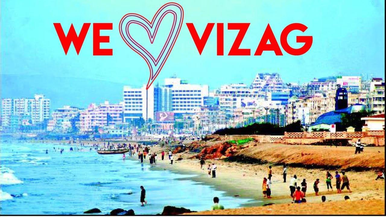 We Love! Vizagggg!!! - Beach Road Visakhapatnam 2017-11-03 08:53