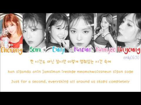 APINK (에이핑크) - FIVE [Color Coded Lyrics]