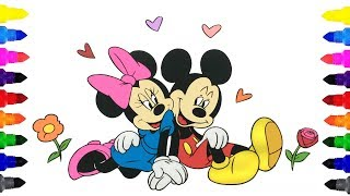 Video Mickey Mouse and Minnie Mouse Coloring Pages for Kids | Mickey Mouse and Minnie Mouse Coloring Book download MP3, 3GP, MP4, WEBM, AVI, FLV Juli 2018