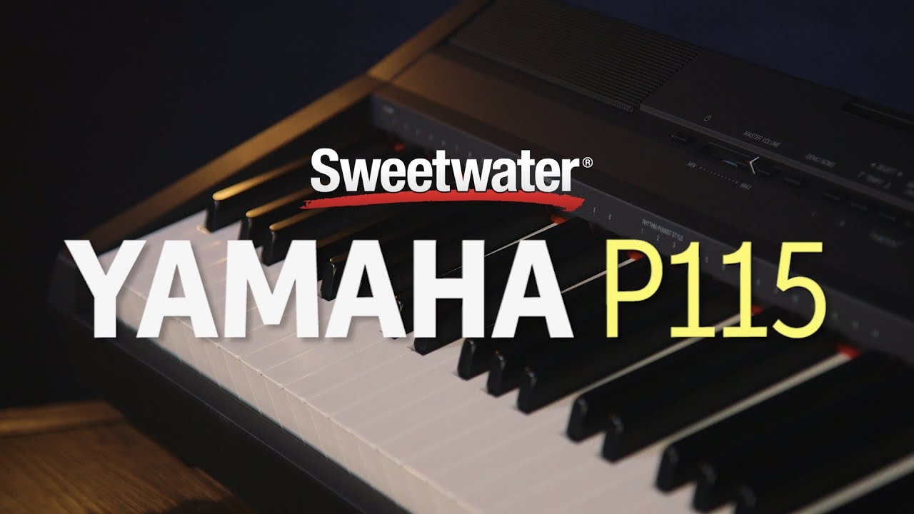 Get flowkey premium for free with your new yamaha digital piano or keyboard ». The p-115 uses yamaha's