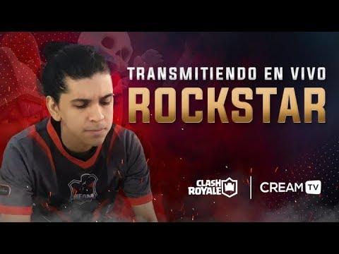 ROCKSTAR - GRANDES DESAFIOS SIN SNIPE! - CREAM TV CLASH ROYALE