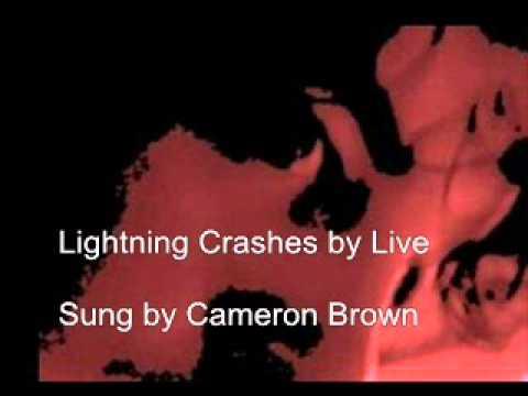 lightning crashes - YouTube