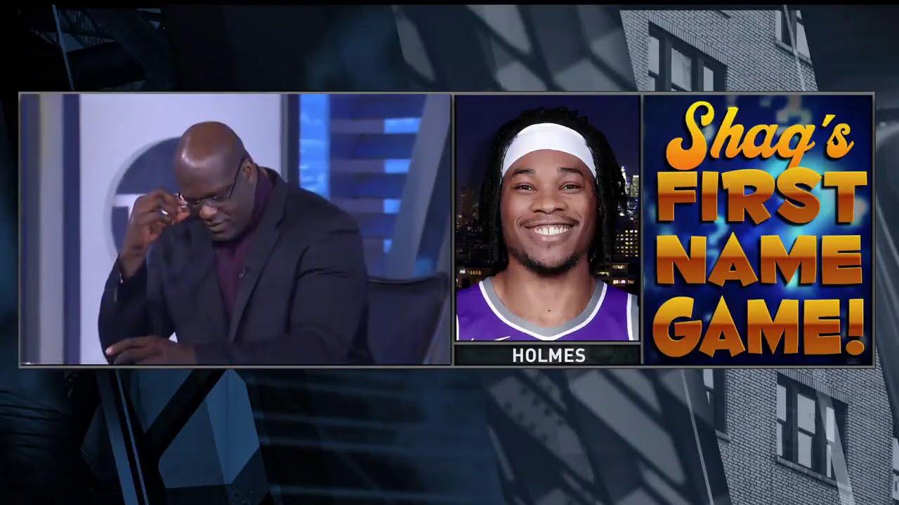 Shaq Fails At The NBA First Name Game - Bleacher Report