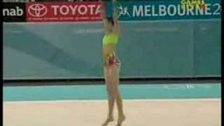 Melissa Logan 2006 Commonwealth Games Clubs Team Final