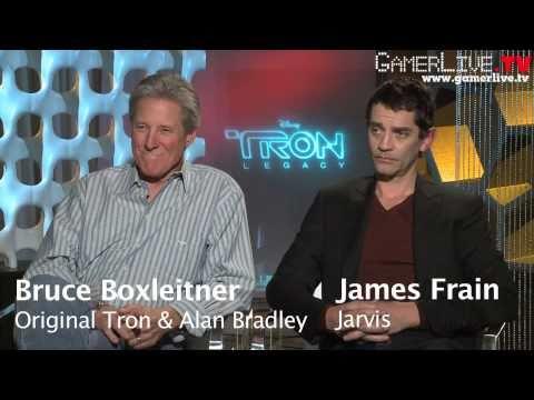 TRON: Legacy - Bruce Boxleitner (Original Tron/Alan Bradley) & James Frain (Jarvis) Interview