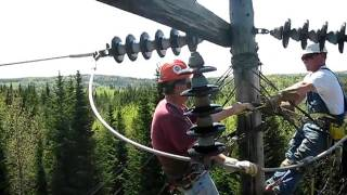 Changing Dead End Insulators